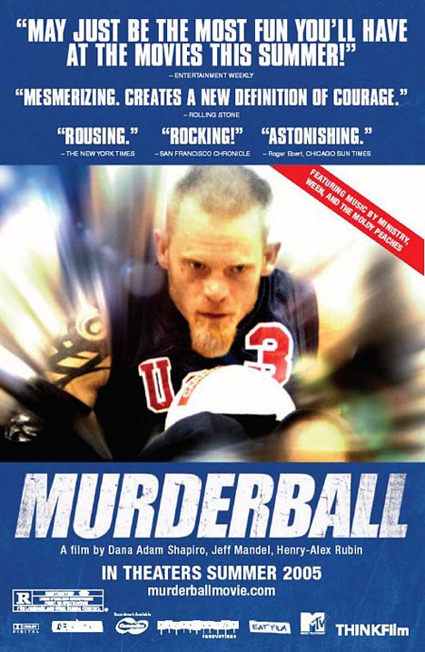 Murderball Poster #1