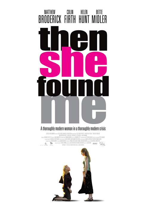 Then She Found Me Poster #1