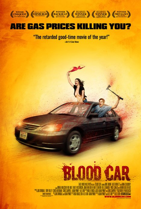 Blood Car Poster #2