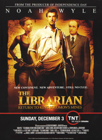 The Librarian: The Curse of the Judas Chalice Poster #1