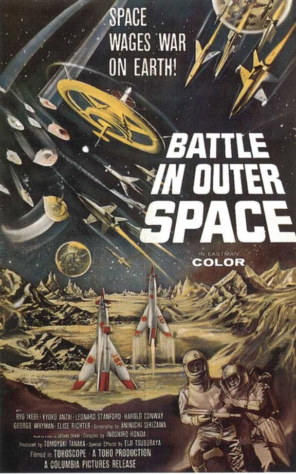 Battle in Outer Space Poster #1