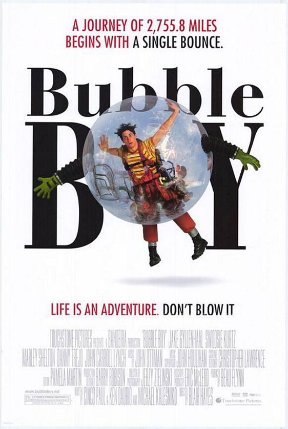 Bubble Boy Poster #1