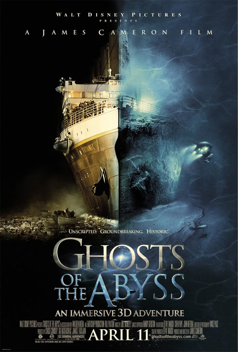Ghosts of the Abyss Poster #1