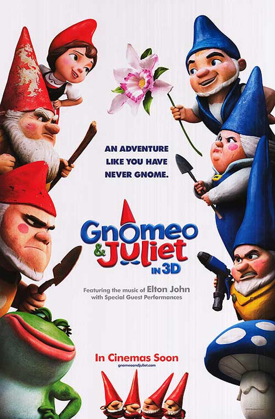Gnomeo & Juliet Poster #4
