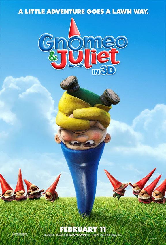 Gnomeo & Juliet Poster #1