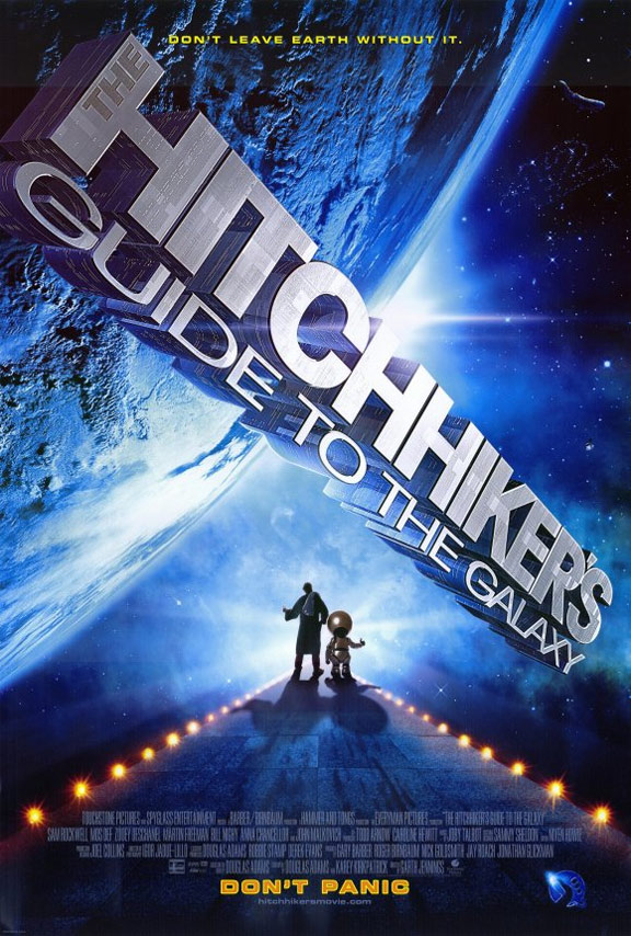 The Hitchhiker's Guide to the Galaxy Poster #1