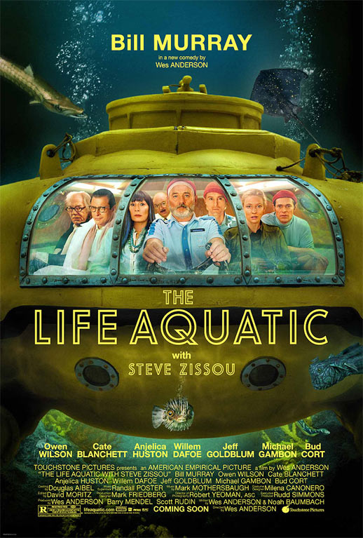 The Life Aquatic With Steve Zissou Poster #1