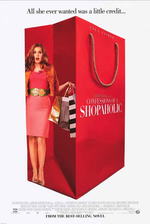 Confessions of a Shopaholic Poster #1