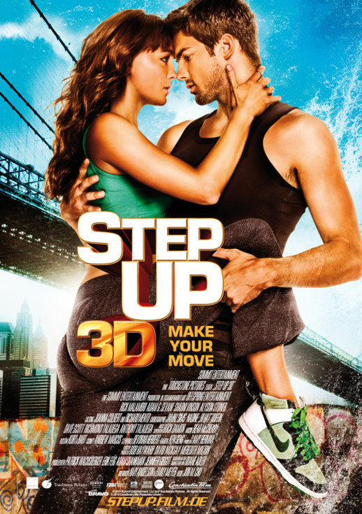 Step Up 3D Poster #2