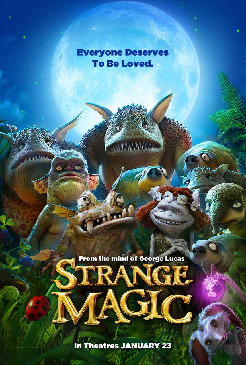Strange Magic Poster #1
