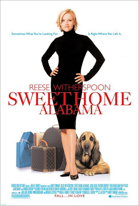 Sweet Home Alabama Poster #1