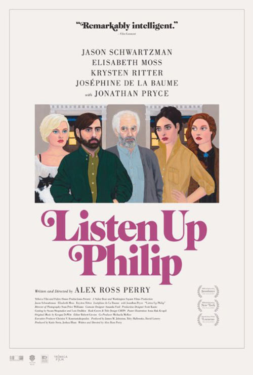 Listen Up Philip Poster #1