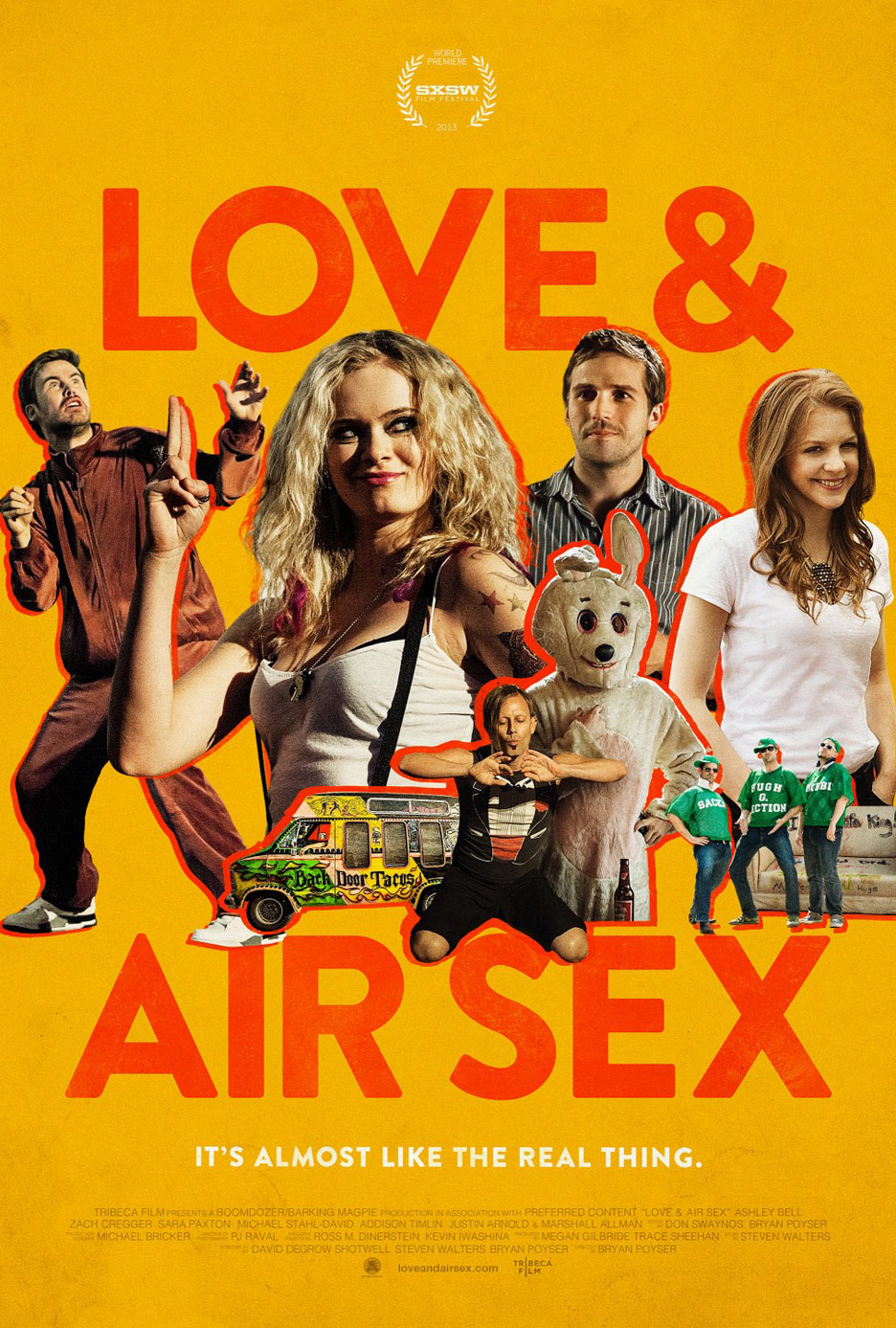 Love & Air Sex Poster #2