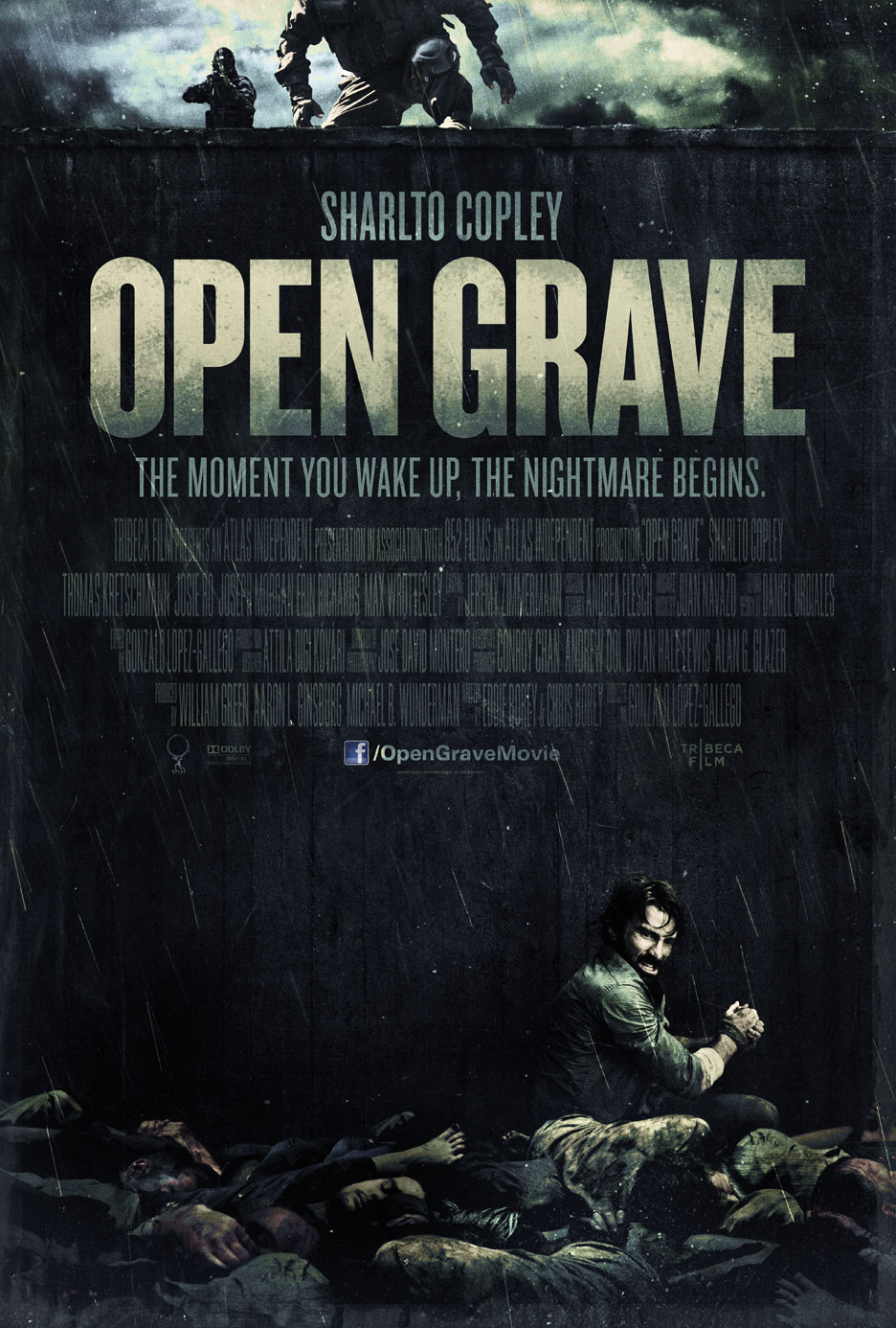 Open Grave Poster #1