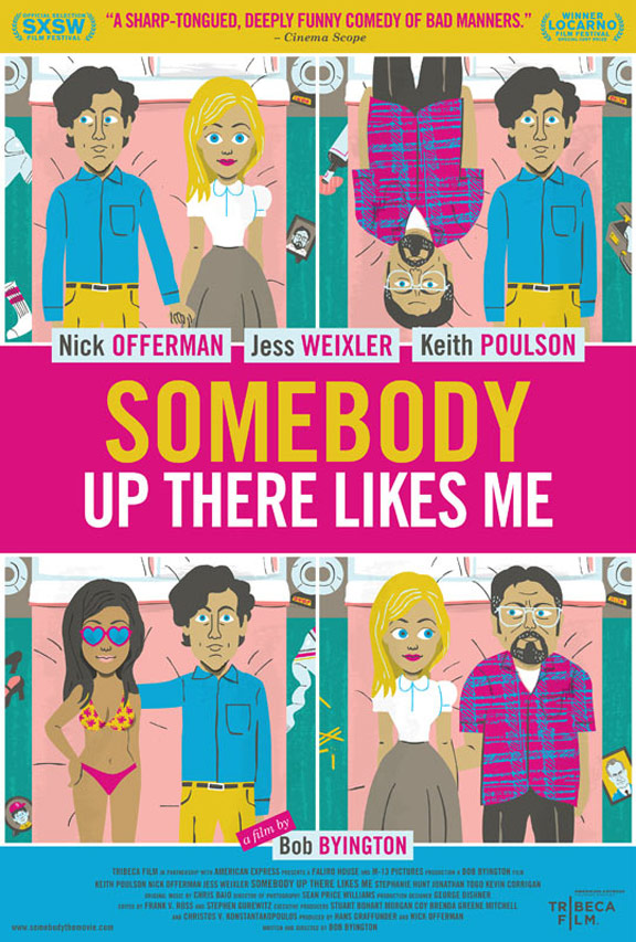 Somebody Up There Likes Me Poster #1