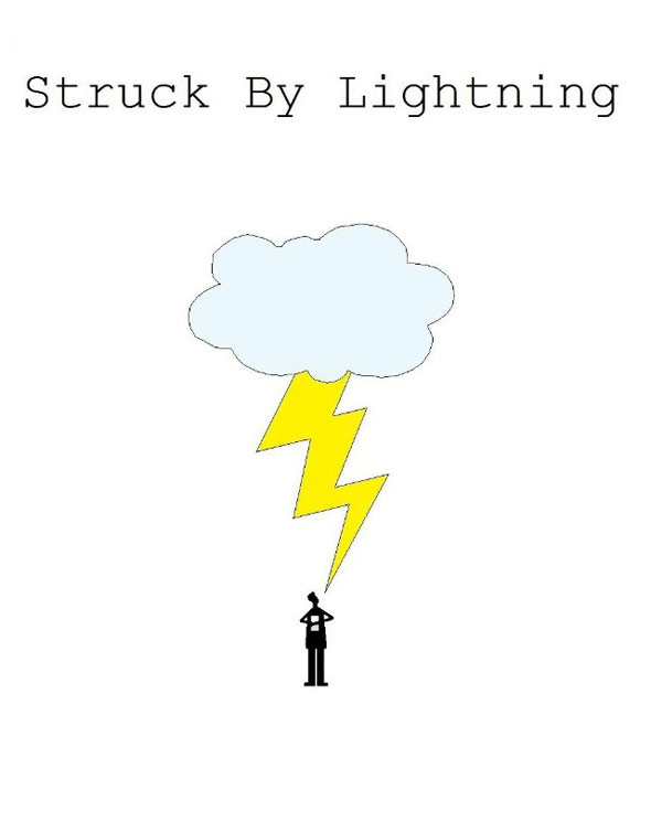 Struck By Lightning Poster #2