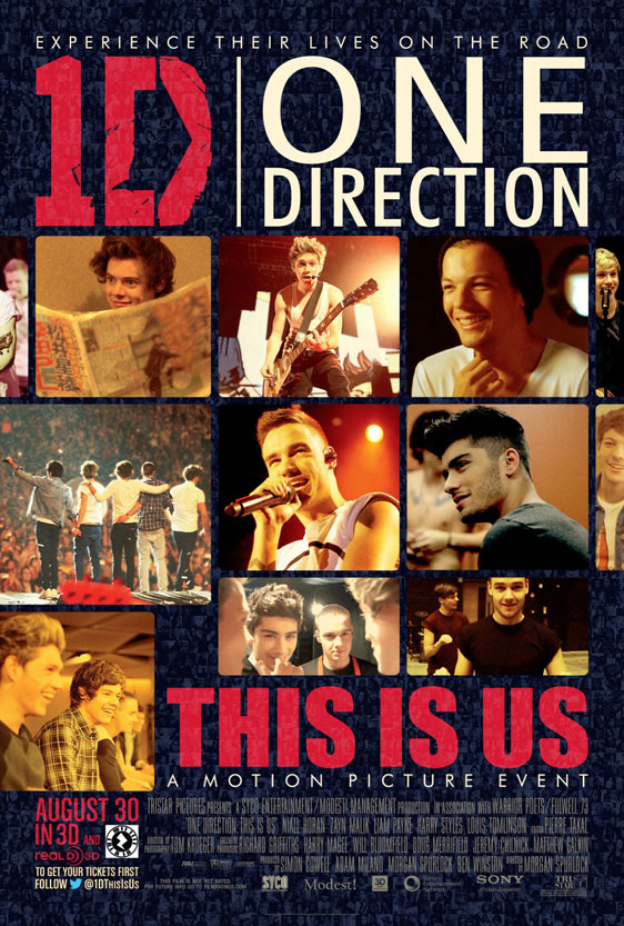 One Direction: This Is Us Poster #1