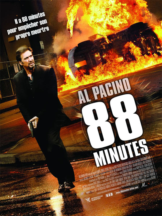 88 Minutes Poster #2
