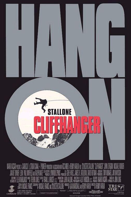 Cliffhanger Poster #1