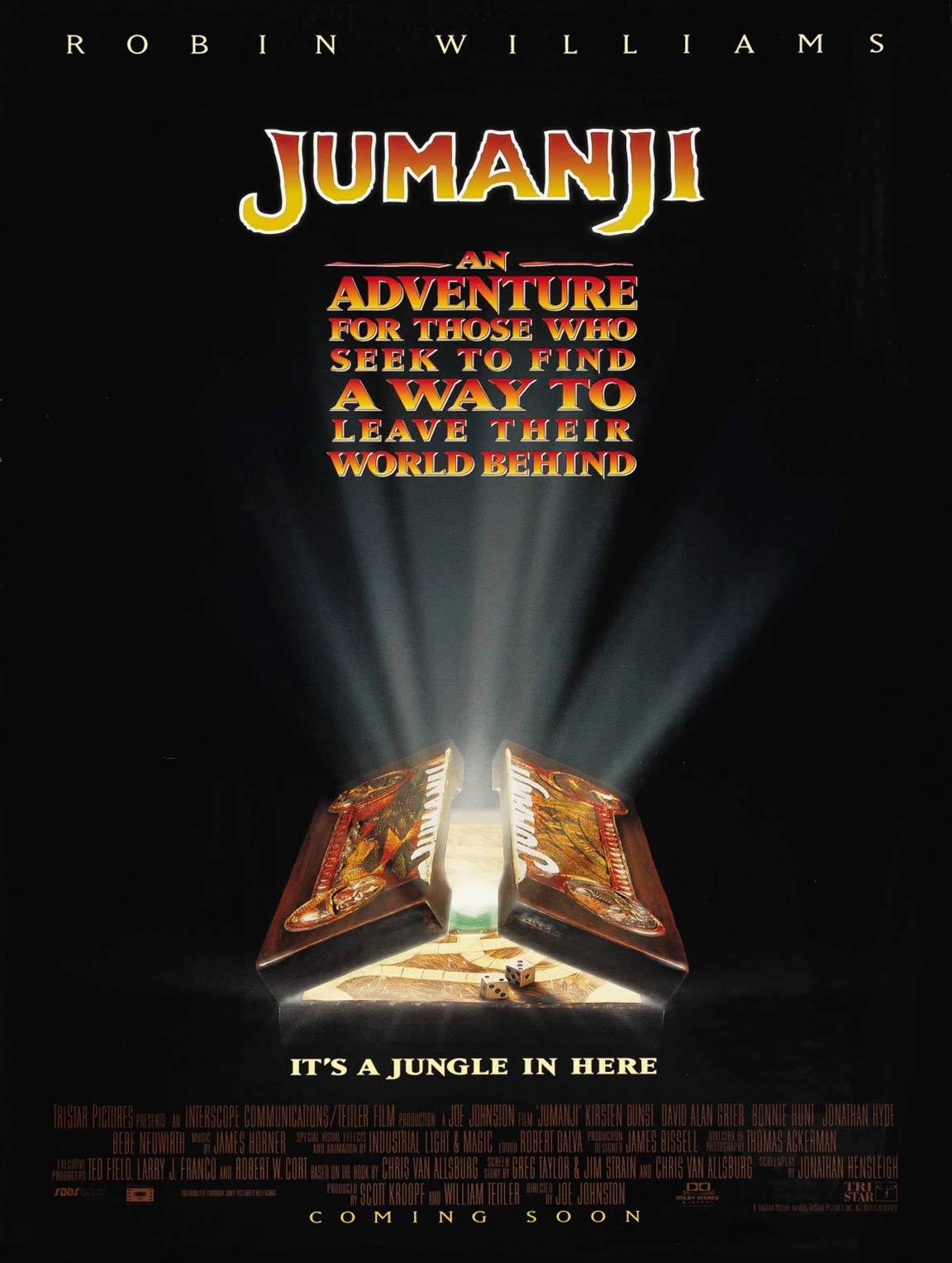 Jumanji Poster #2