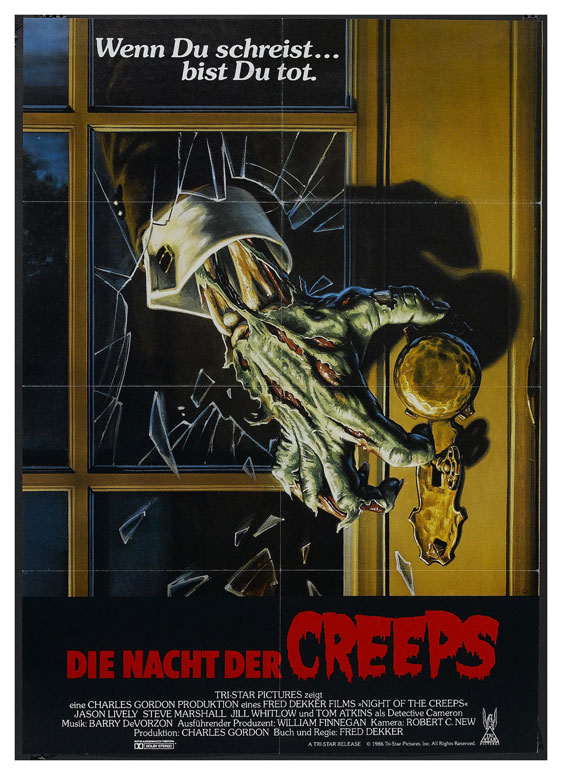 Night of the Creeps Poster #3