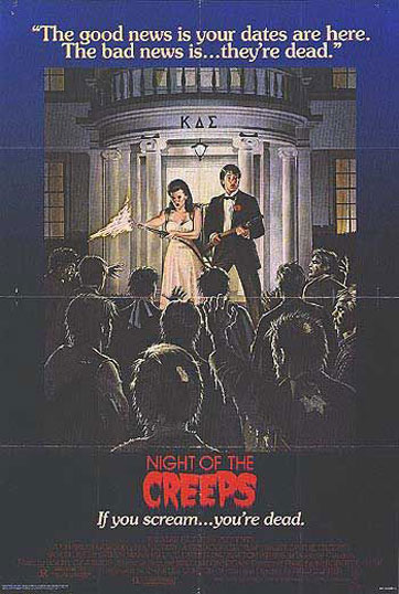 Night of the Creeps Poster #1