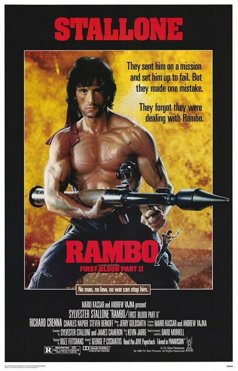 Rambo: First Blood Part II Poster #1