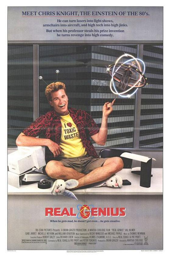 Real Genius Poster #1