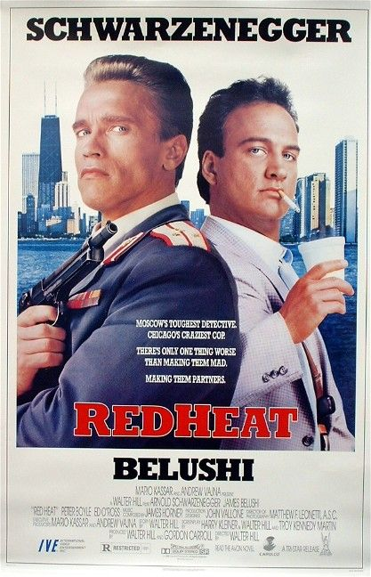 Red Heat Poster #1