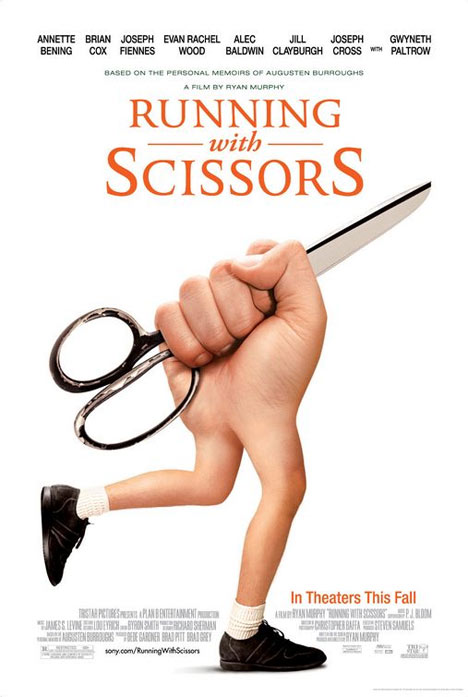 Running with Scissors Poster #1