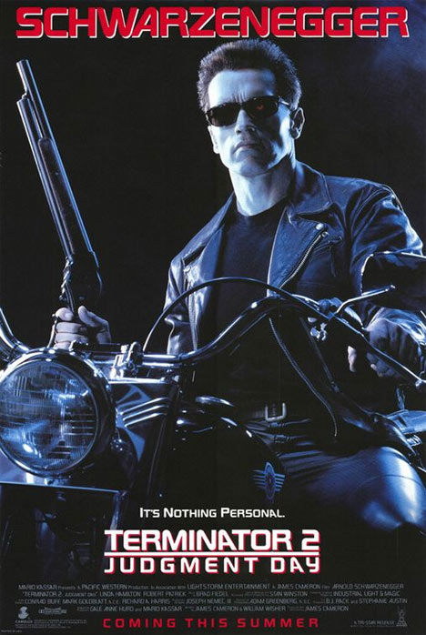 Terminator 2: Judgment Day Poster #1