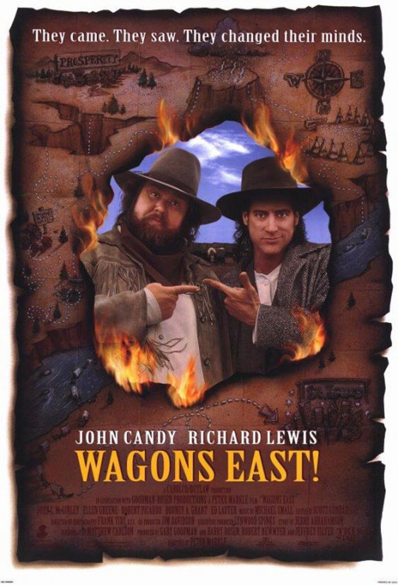 Wagons East Poster #1