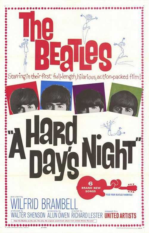 A Hard Day's Night Poster #1