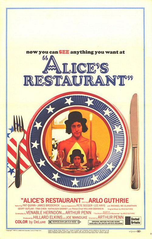 Alice's Restaurant Poster #1