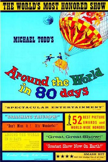 Around the World in 80 Days Poster #2