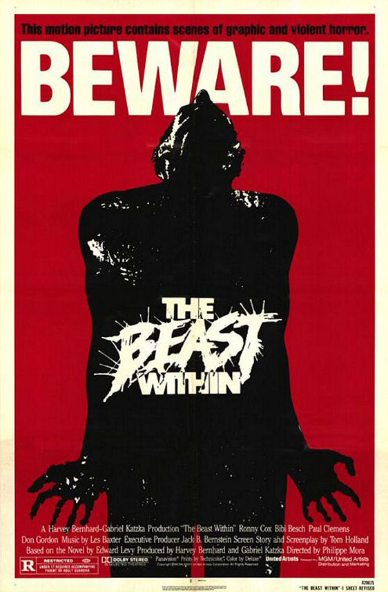 The Beast Within Poster #1
