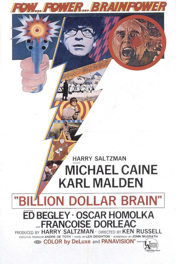Billion Dollar Brain Poster #1