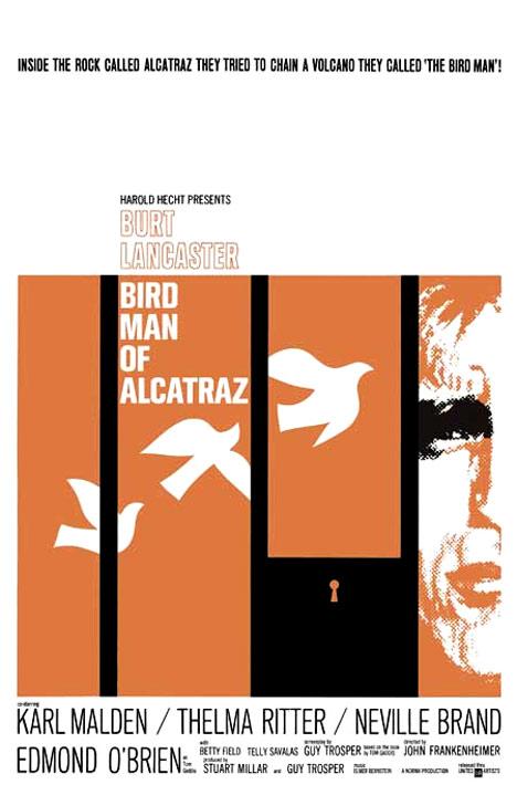 Birdman of Alcatraz Poster #1