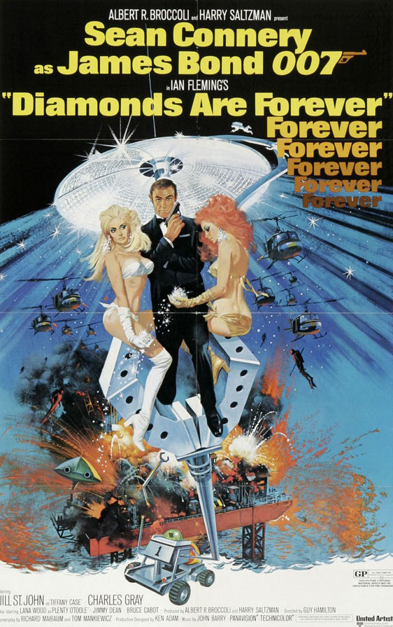 Diamonds Are Forever Poster #1