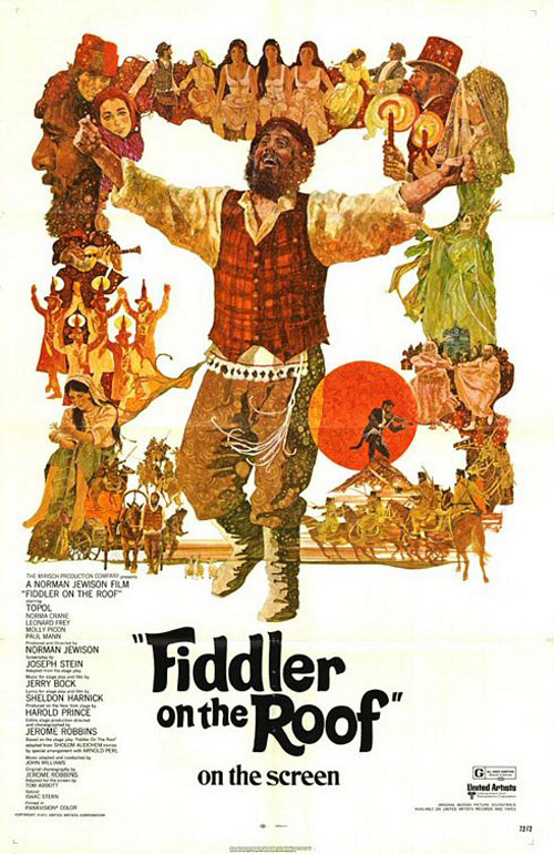Fiddler on the Roof Poster #2