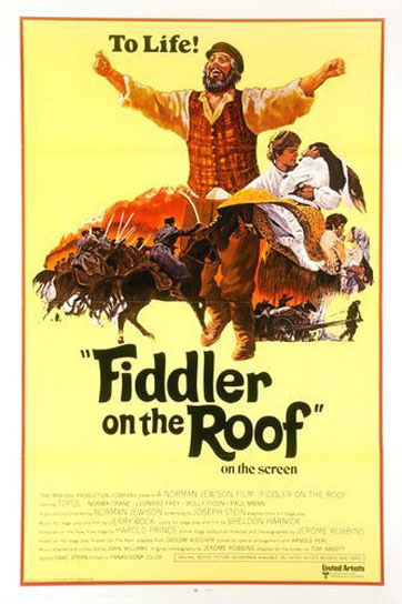 Fiddler On The Roof 1971 Poster 1 Trailer Addict