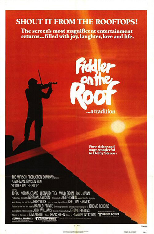 Fiddler on the Roof Poster #4