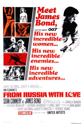 From Russia with Love Poster #2