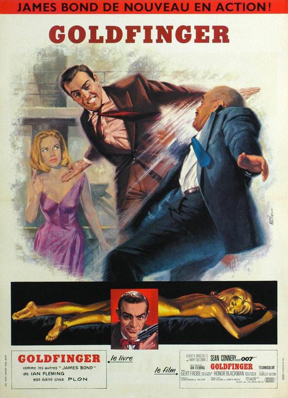 Goldfinger Poster #2
