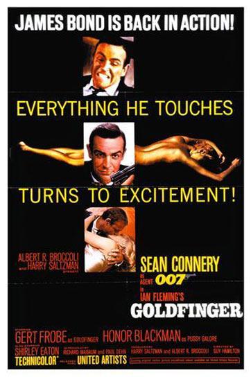 Goldfinger Poster #1