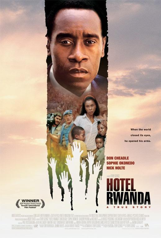 Hotel Rwanda Poster #1