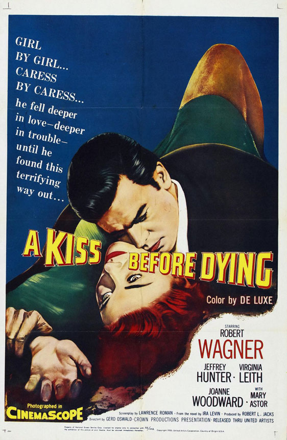 A Kiss Before Dying Poster #1