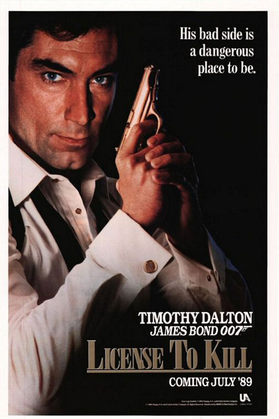 License to Kill Poster #1