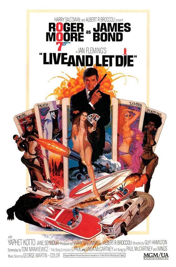 Live and Let Die Poster #1