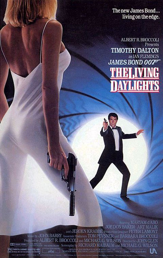 The Living Daylights Poster #1